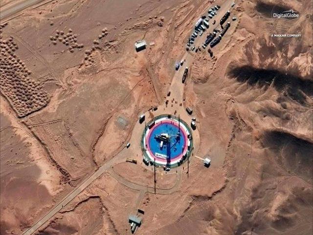 Iran launches space program