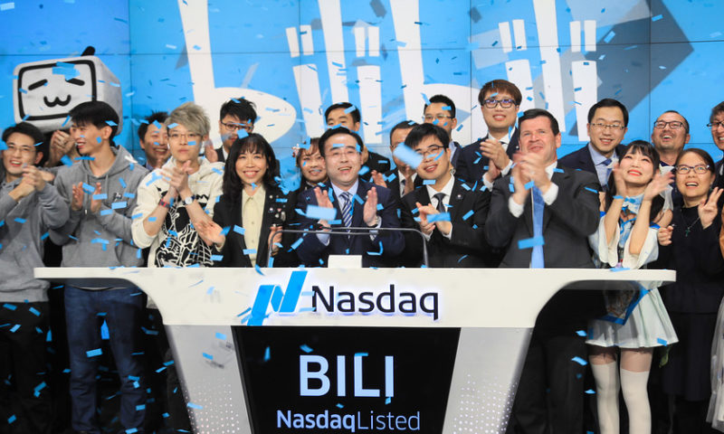 Chinese streaming giant Bilibili stock rises after earnings beat