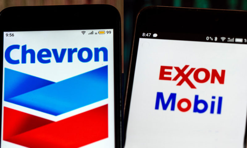 Exxon, Chevron among top gainers after mixed quarterly results