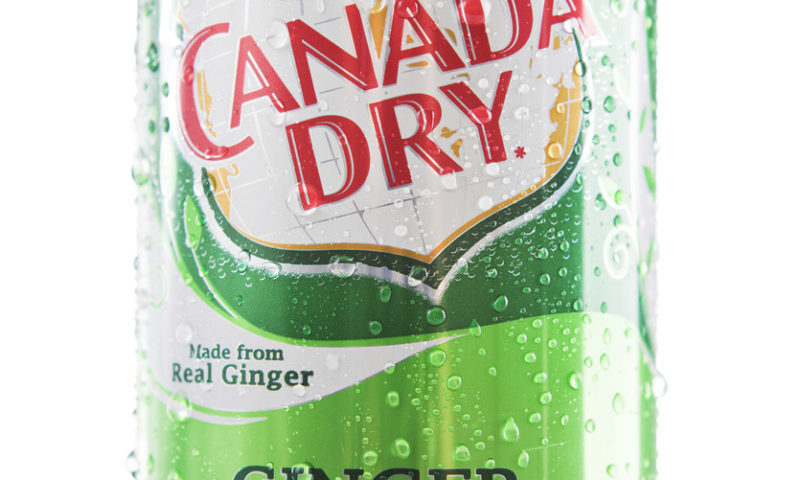 How much ginger is there in America's best-selling ginger ale?