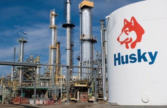 Husky profits down