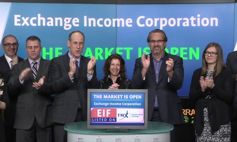 Exchange Income Corporation (EIF:CA) Rises 5.96%