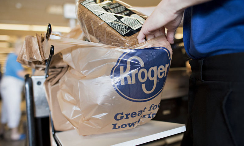 Kroger shares on track for worst day in a year after earnings fall short