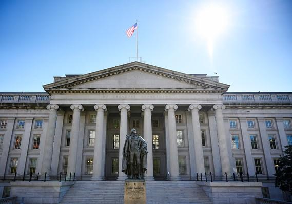 U.S. runs January budget surplus of $9 billion