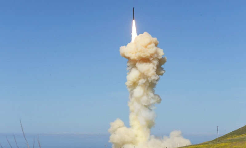 Missile defense system successfully intercepts target in new test, Pentagon says