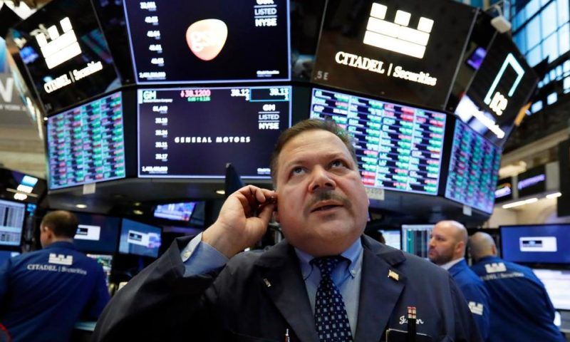 US Stocks End Choppy Day Mixed Amid Global Growth Jitters