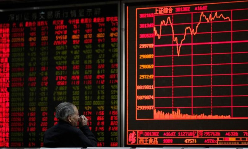 Asian Shares Mixed Following Rebound on Wall Street