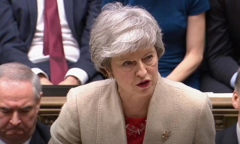 UK Faces New Brexit Crisis After Lawmakers Reject May's Deal