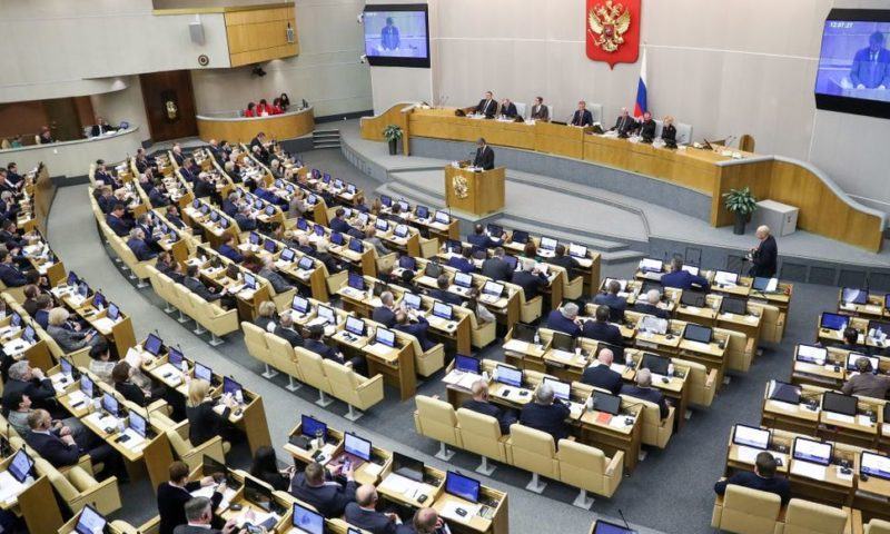 Russian Lawmakers Pass Bill to Outlaw Insulting the State