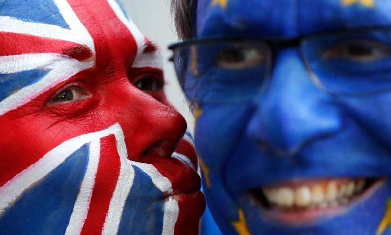 The Latest: EU Diplomat Pans Hardliner's 'Difficult' Brexit