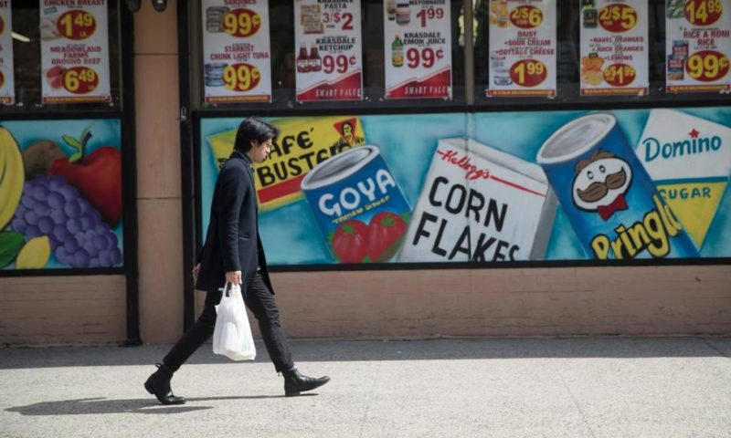 US Consumer Prices Rose 0.4% in March on Higher Gas Costs