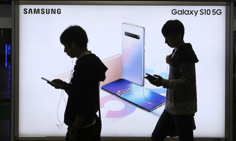 Samsung's 1Q Profit Slides on Falling Chip Prices