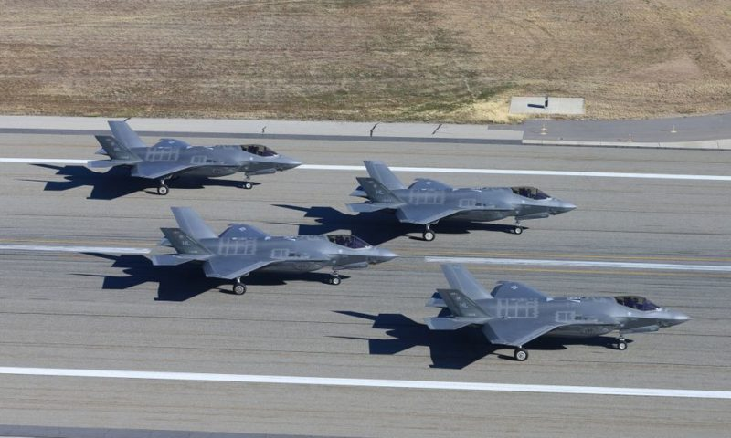 U.S. to Suspend F-35 Shipments to Turkey