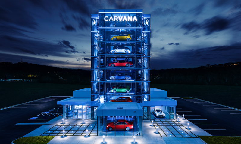 Barclays PLC Purchases 171,637 Shares of Carvana Co (NYSE:CVNA)