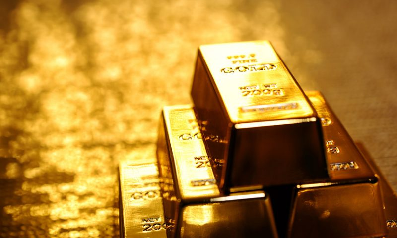Gold finishes higher as Trump's China tariff threat unsettles markets