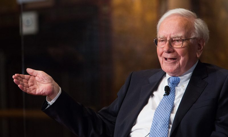 Berkshire has bought Amazon stock, but Warren Buffett says it wasn't him