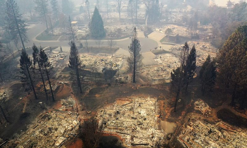 Insurance claims from 2018's devastating California wildfires top $12 billlion