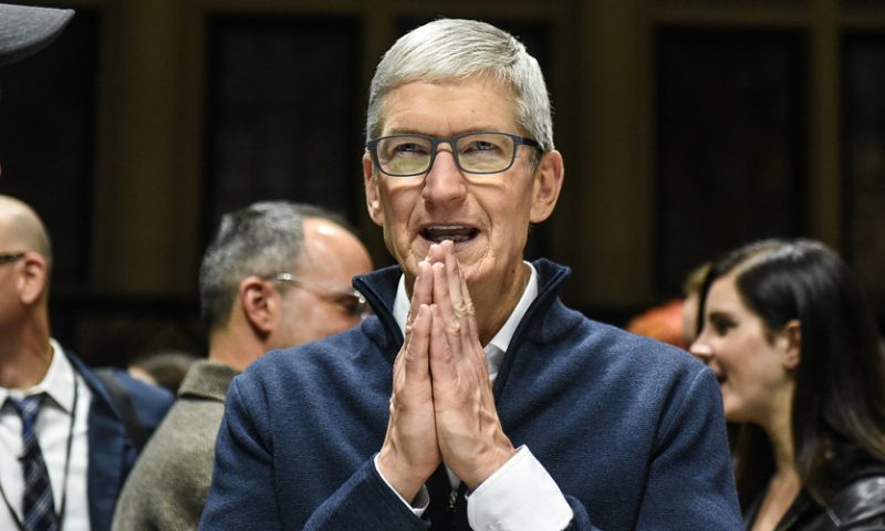 Apple has bought around two dozen companies in the past 6 months, Tim Cook says