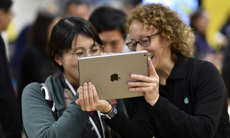 Apple is optimistic, and it isn't because of the iPhone