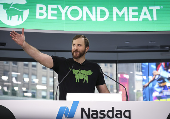 Beyond Meat CEO wants to make traditional protein from animals 'obsolete'
