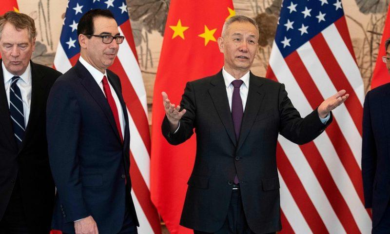 Dow tumbles more than 500 points as U.S.-China tariff battle escalates