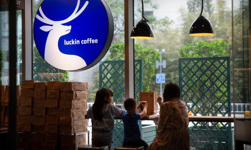 Luckin, a Starbucks Rival in China, Rises in US Stock Debut