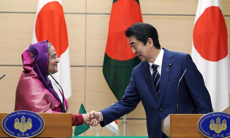 Japan Announces Aid to Bangladesh During Leader's Visit