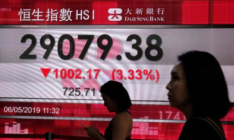 Markets Swoon After Trump Threatens to Hike China Tariffs
