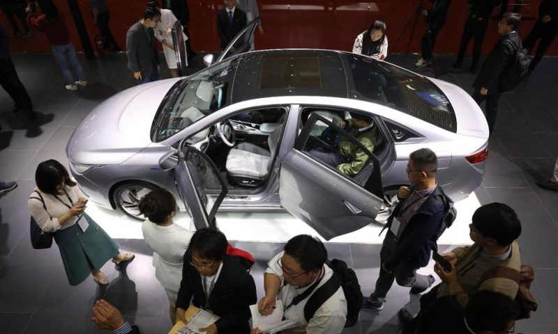 China's Auto Sales Fall 17.7% in April, Extending Slump