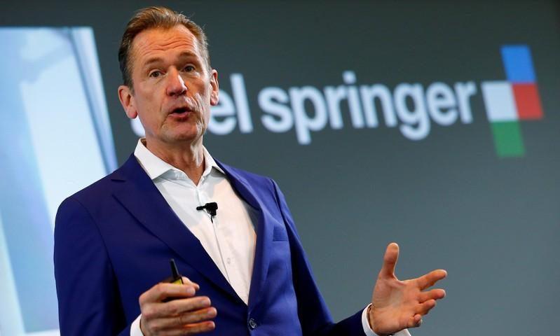 KKR to Take Stake in German Publisher Axel Springer
