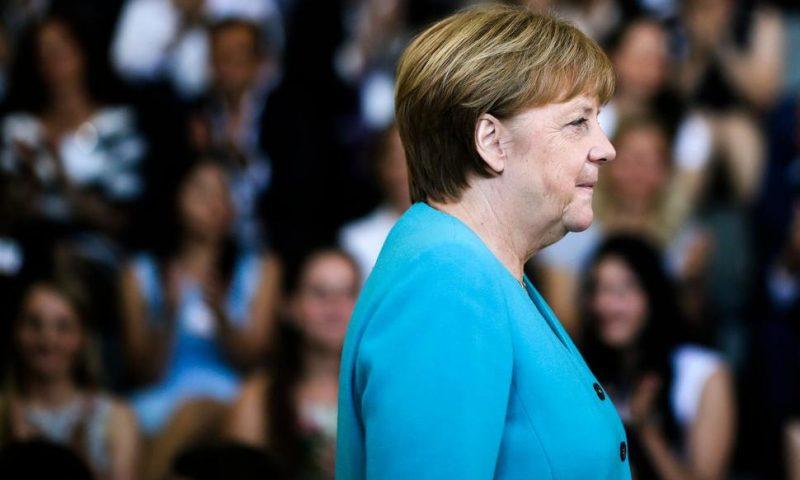 Germany's Merkel Defends Talk of 'European Champions'