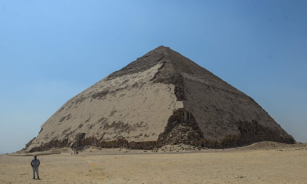 'Bent' pyramid: Egypt opens ancient oddity for tourism