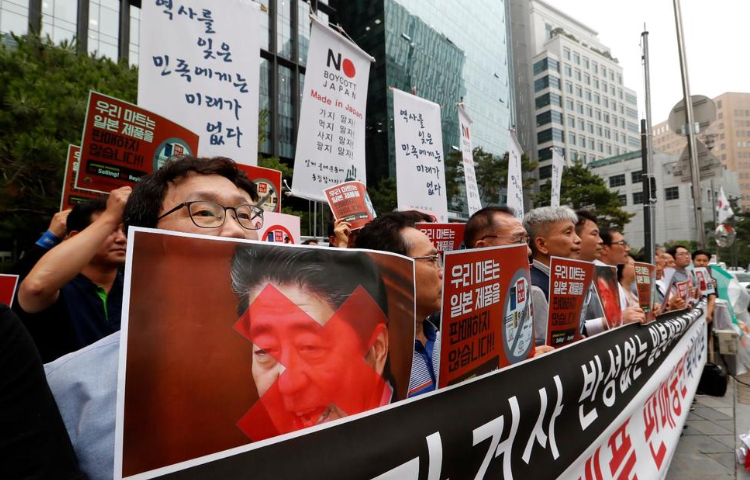 S. Korean Business Owners Call for Boycott of Japanese Goods