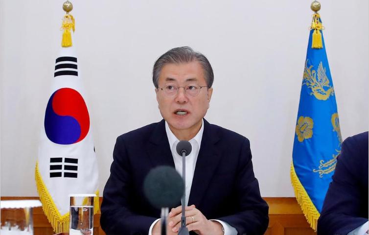 SKorean Leader Denounces Japanese Comments Over Sanctions