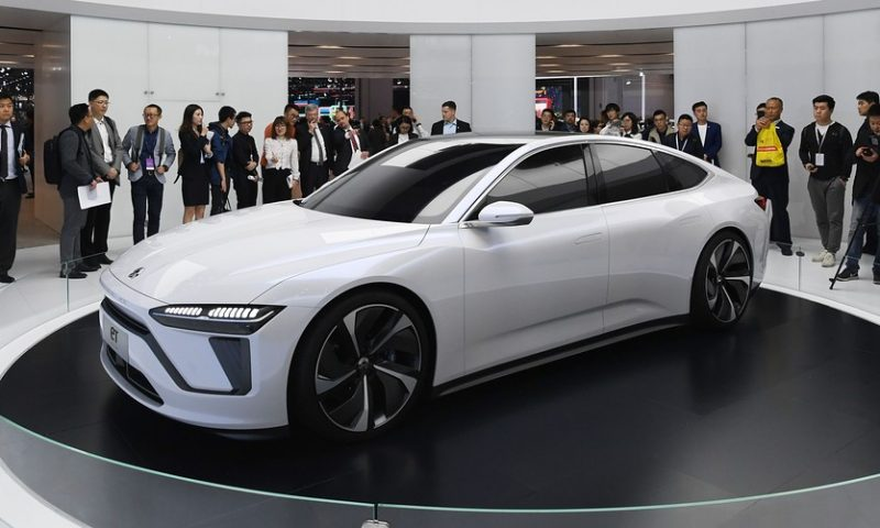Nio's stock keeps rising toward its best-ever 6-day run