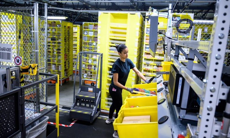 Amazon is spending $700 million retraining workers, but critics say it should attend to other housekeeping duties first