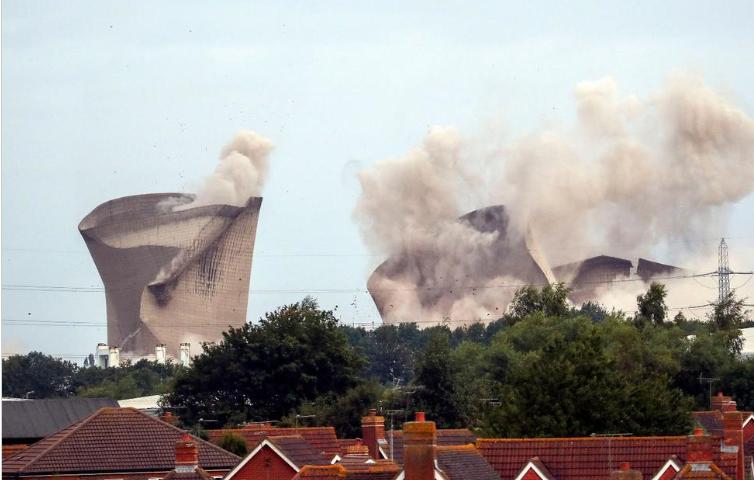 Demolition Levels UK Power Plant Once Named a Top Eyesore