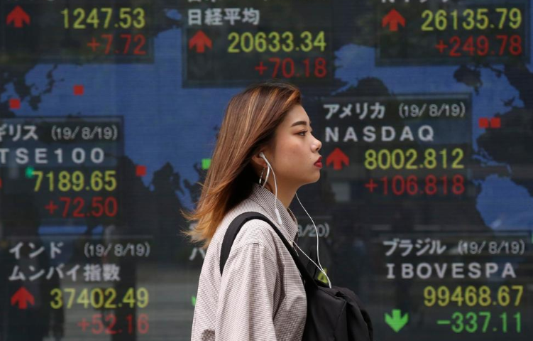 Asian Shares Mostly Rise After Wall Street Rally on Huawei