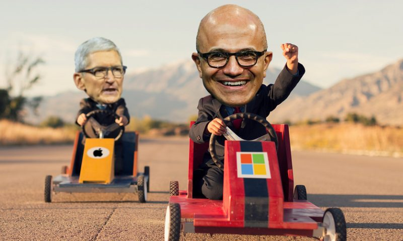The $1 trillion companies: Microsoft is still bigger and better than Apple