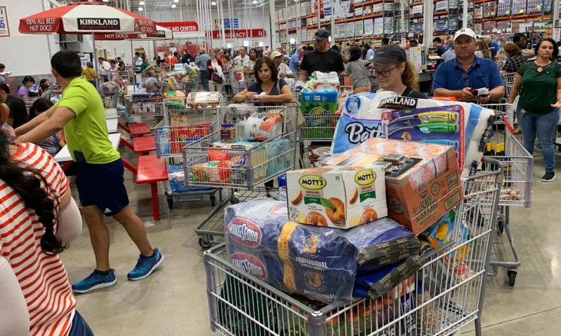US Consumer Prices up Slight 0.1% in August but Core Higher
