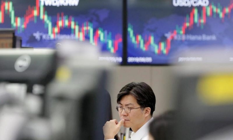Global Stocks Mostly Lower After Oil Prices Surge
