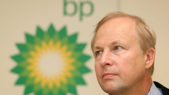 BP's Bob Dudley in line for up to £40m after exit