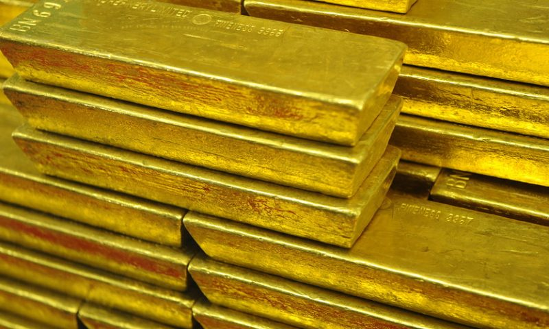 Gold ends below $1,500 as stocks rally ahead of this week's Fed meeting