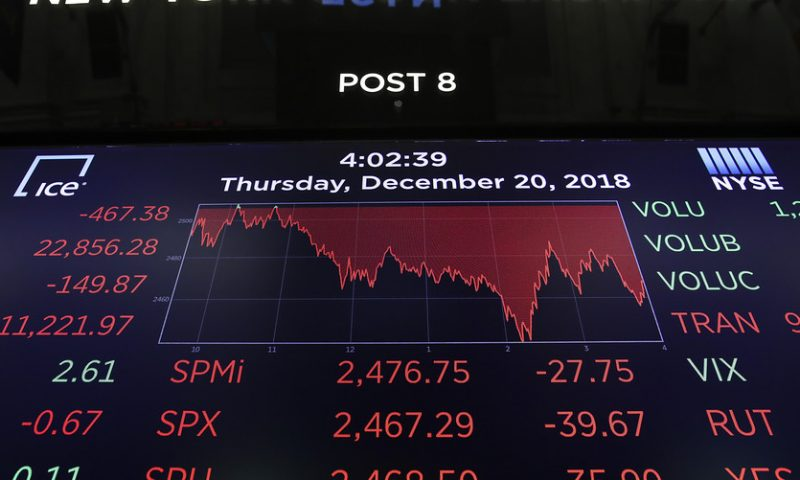 Expert who called the 2008 crisis says repeat of December meltdown is inevitable