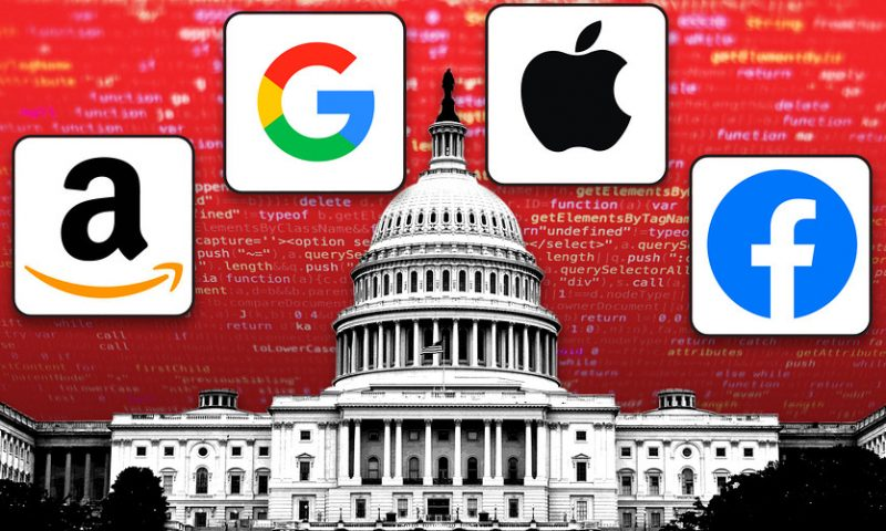 Antitrust fears muted as Amazon, Apple, Google and Facebook approach earnings