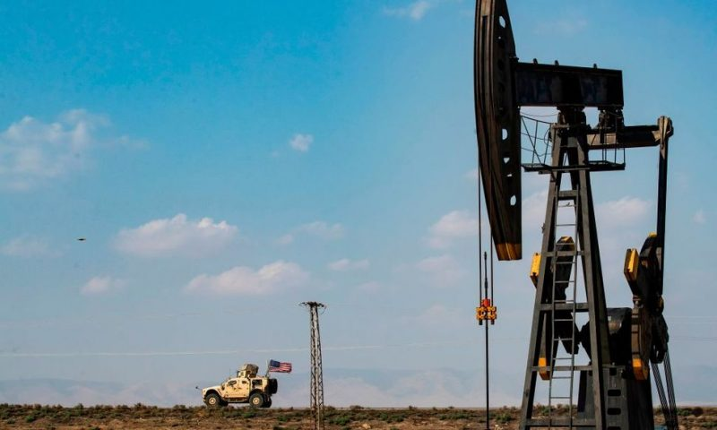 Trump, Pentagon Diverge on Need to Control Syrian Oil Fields
