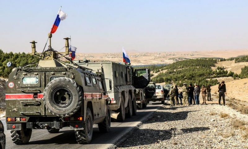 Russia Encroaches on U.S. Stronghold in Syria, Threatening Conflict