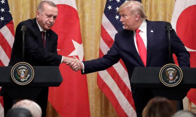 Strained Press Conference Caps Offs Trump-Erdogan Summit