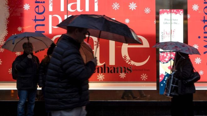 Boxing Day sales: Footfall slumps as experts blame Black Friday and bad weather