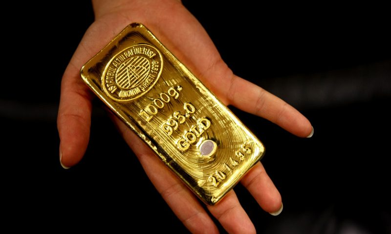 Gold price marks highest finish in more than 8 weeks